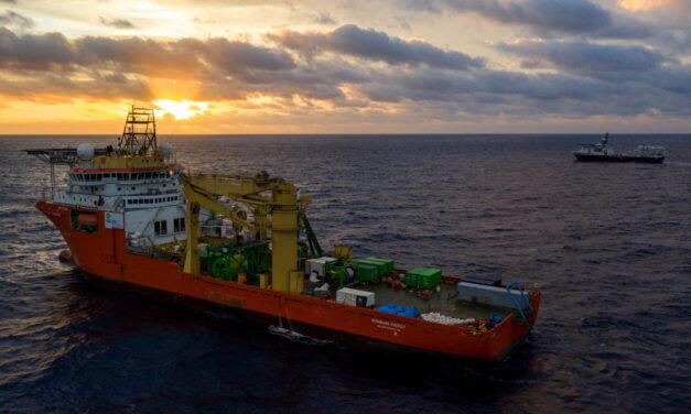 «Robot minero» varado en el fondo del océano en un ensayo de minería en aguas profundas