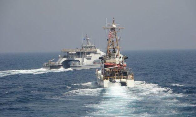 La Armada de EE.UU. acusa a la Guardia Revolucionaria de Irán de hostigar a los buques de la USCG en el Golfo