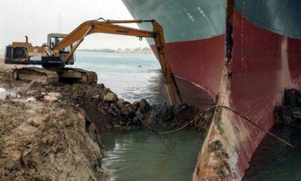 Los memes virales de la persona que excavó en el Canal de Suez le hicieron trabajar más duro para liberar el barco