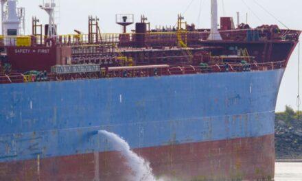 Los buques de carga descargan parte de sus residuos en el Mar Báltico