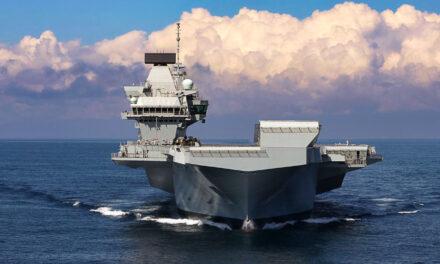 El portaaviones HMS Queen Elizabeth partirá en su viaje inaugural