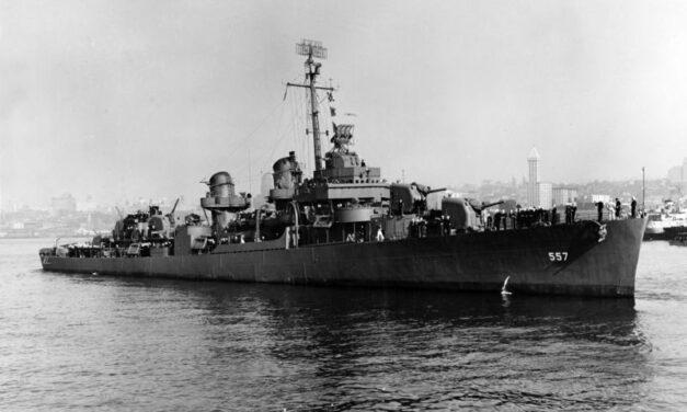 Ver: 80 años del «USS Johnston», el naufragio más profundo del mundo explorado