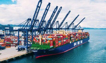 HMM pretende alcanzar una capacidad de flota de 1 millón de TEU en 2022