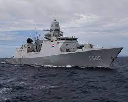 Damen Shiprepair Amsterdam prepara el HNLMS Evertsen para su viaje a Japón