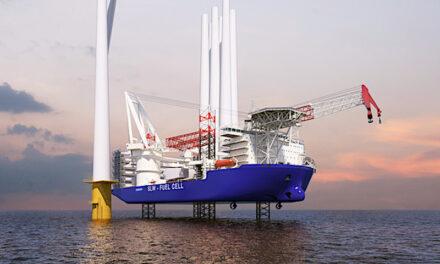 Samsung Heavy Industry presenta un nuevo diseño de buque de instalación de aerogeneradores