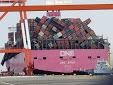 Varios contenedores se pierden en el mar en la premura por cumplir los plazos de entrega
