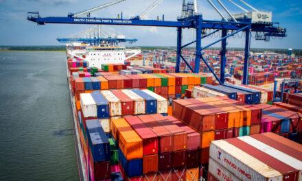 Los puertos de Carolina del Sur establecen un récord mensual de carga en marzo
