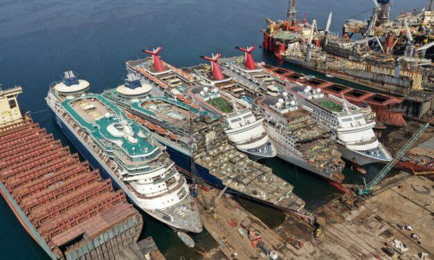 UE vuelve a endurecer las normas de reciclaje de buques