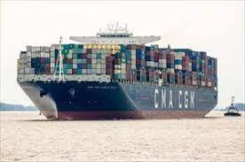 CMA CGM Marco Polo continúa su gira por la costa este, estableciendo un récord