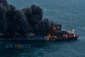 El incendio de X-Press Pearl sigue siendo una amenaza para el medio ambiente