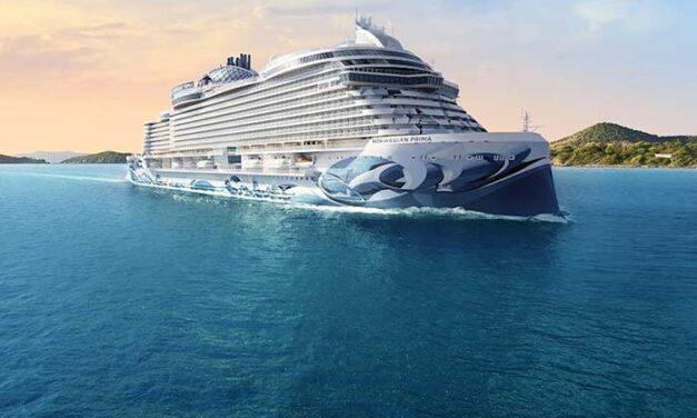 Norwegian Cruise Line presenta el «Norwegian Prima», el primero de los 6 barcos de la clase con el mismo nombre