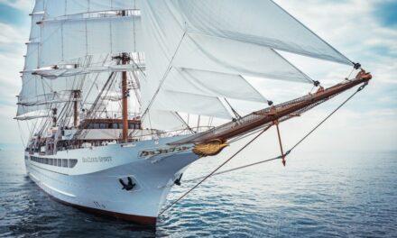 Entrega del «Sea Cloud Spirit», viaje inaugural previsto para septiembre