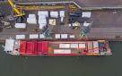 Toda la planta de bio-aceite se transporta por el puerto de Rotterdam