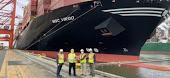 El puerto de Newark da la bienvenida al «MSC Virgo» como el mayor buque portacontenedores que hace escala en la terminal