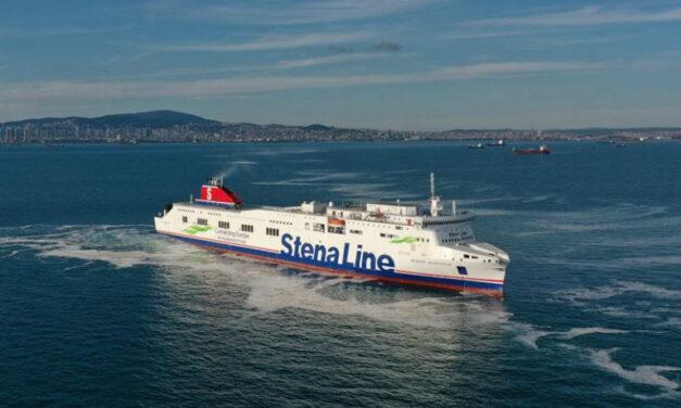 Stena RoRo recibe el buque alargado «Stena Scandica» del astillero turco