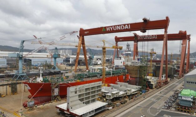 La salida a bolsa de Hyundai Heavy viene pisando fuerte