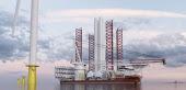 Knud E. Hansen presenta un nuevo diseño de buque de instalación de «aerogeneradores»