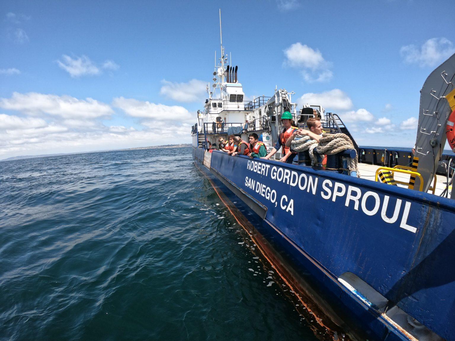 Scripps recibe 35 millones de dólares de California para construir un buque de investigación impulsado por hidrógeno