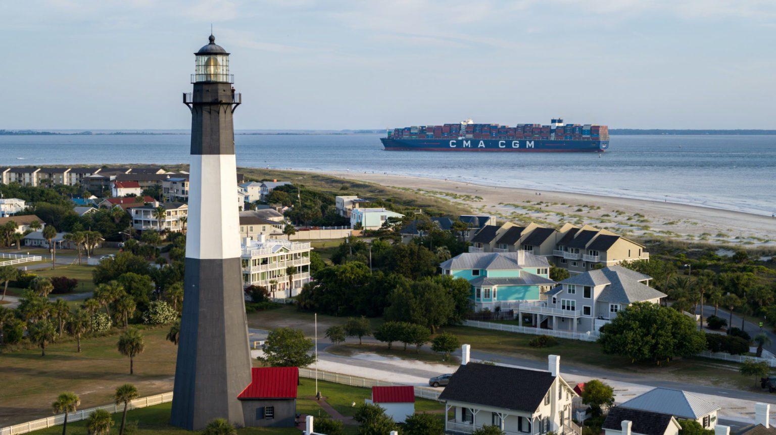 El jefe del puerto cree que el aumento de las importaciones de EE.UU. se prolongará «fácilmente» hasta 2022