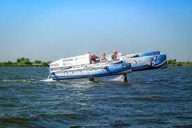 Ver: El primer bote volador de hidrógeno del mundo