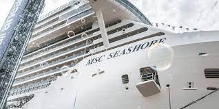 Fotos: MSC recibe el mayor buque de cruceros construido en Italia, «MSC Seashore».