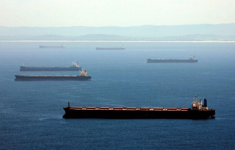 El índice Baltic Dry registra una subida trimestral de más del 50% gracias al aumento de los buques de gran tamaño
