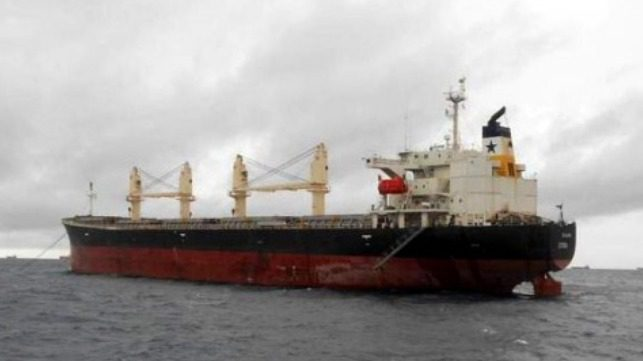 Uruguay asiste a un buque griego tras una explosión que mató a un miembro de la tripulación