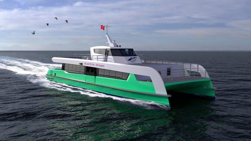 Shell lanzará el primer ferry totalmente eléctrico de Singapur