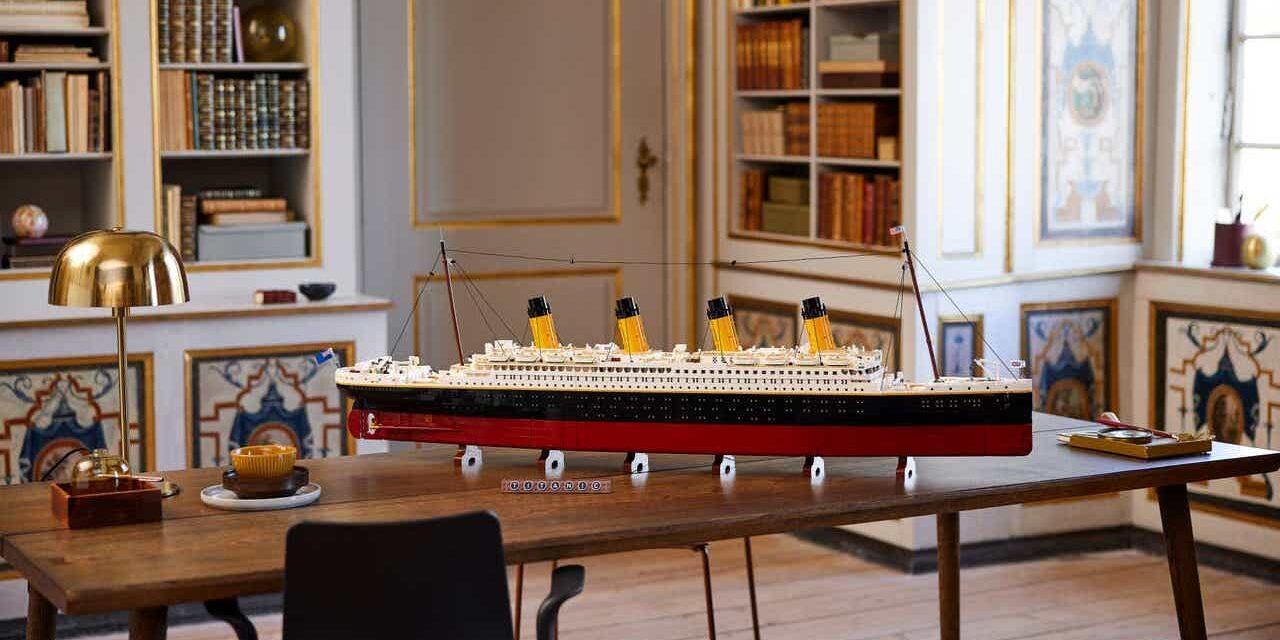 El RMS Titanic recibe el tratamiento de LEGO