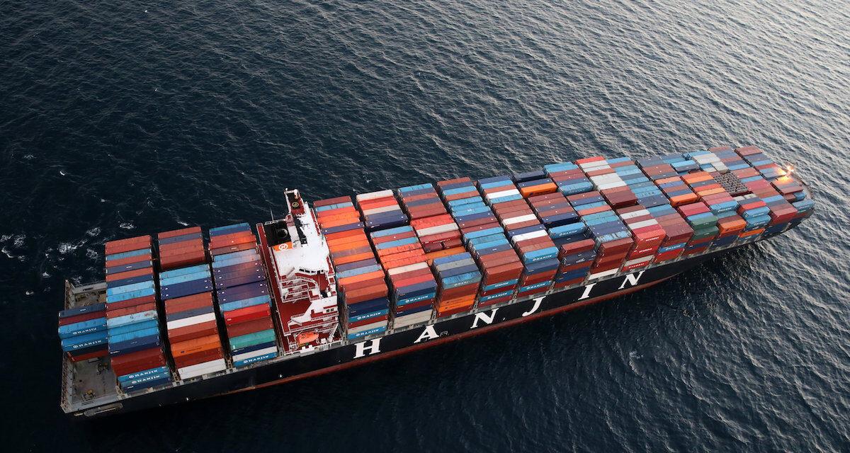 El mercado del transporte marítimo de contenedores está tan caliente que ahora revive Hanjin Heavy Industries