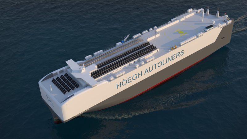 LHöegh Autoliners firma una carta de intenciones para la adquisición de dos buques de transporte de amoníaco en China