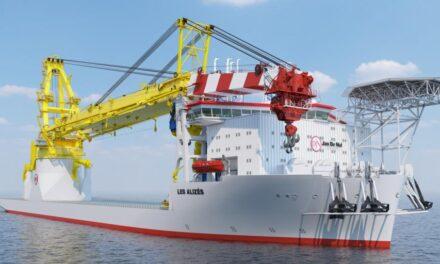 Ørsted contrata la nueva generación de buques de instalación en alta mar de Jan De Nul para proyectos eólicos en Alemania