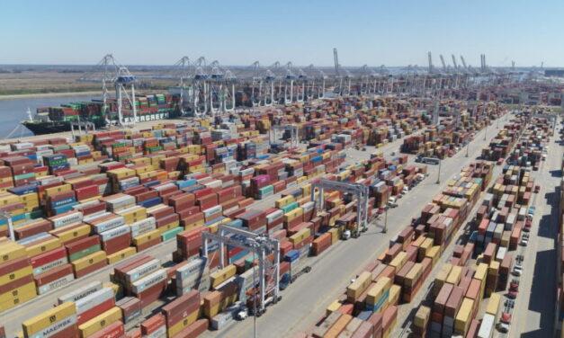 Los transportistas Evitan el puerto de Savannah, que está congestionado